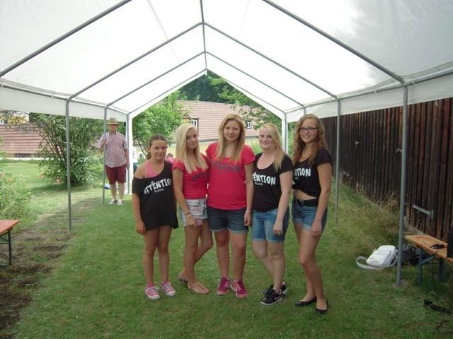 Unsere Tanzgruppe mit Meike