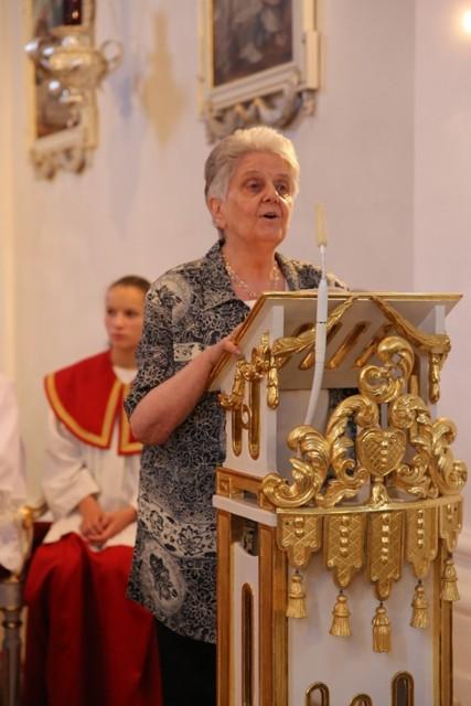 Frau Schwab vom Sozialdienst katholischer Frauen aus Regensburg