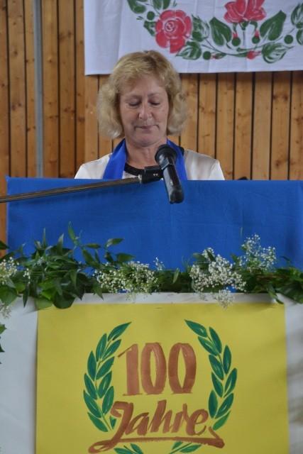 stellv. Vorsitzende Frau Reimann begrüßt