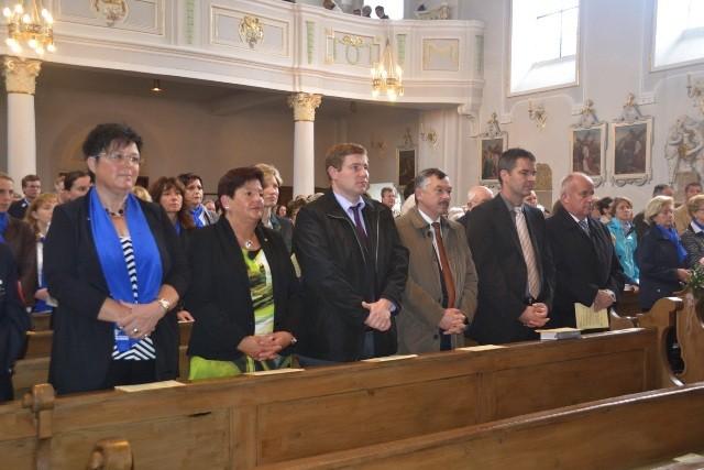empfangen die Kirchengemeinde