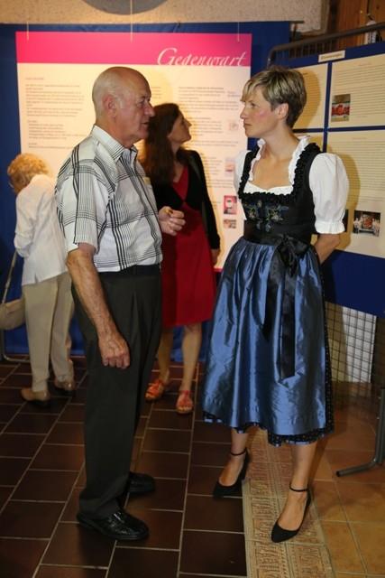 Herr Fleischmann mit Frau Dr. Zinkl