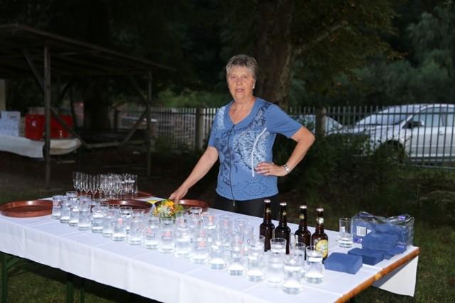 Organisationsteam Frau Renner - nach dem Sekt