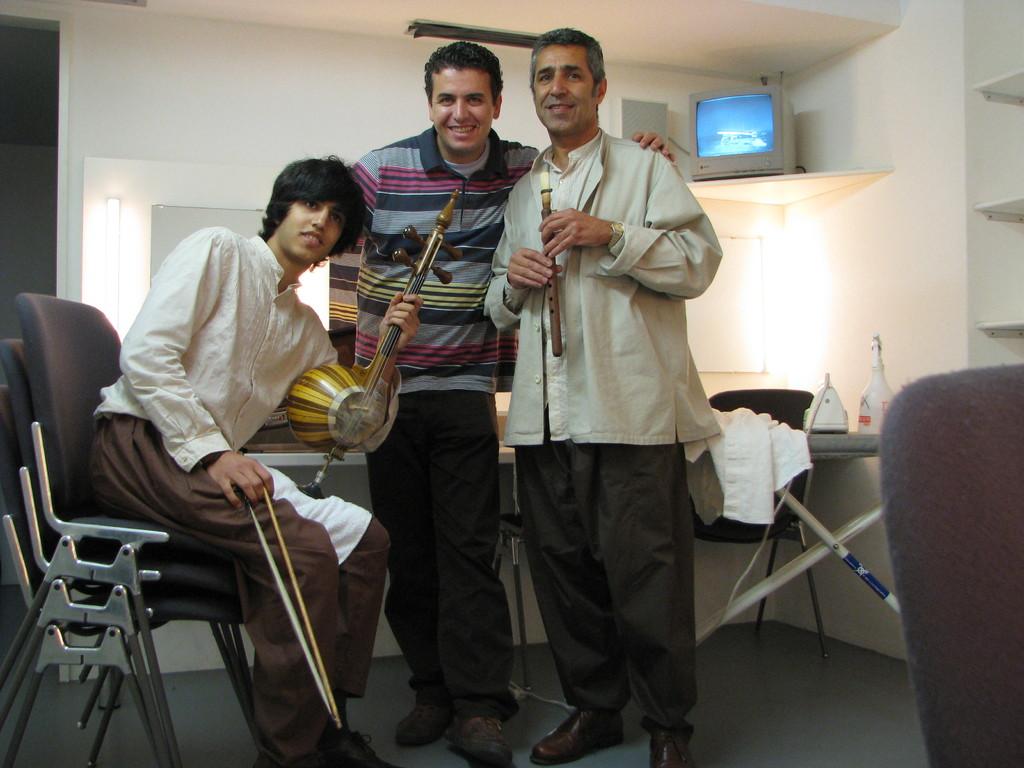 Konzert mit Khosro soltani,Kian soltan und Hamidreza ojaghi am Liechtenstein