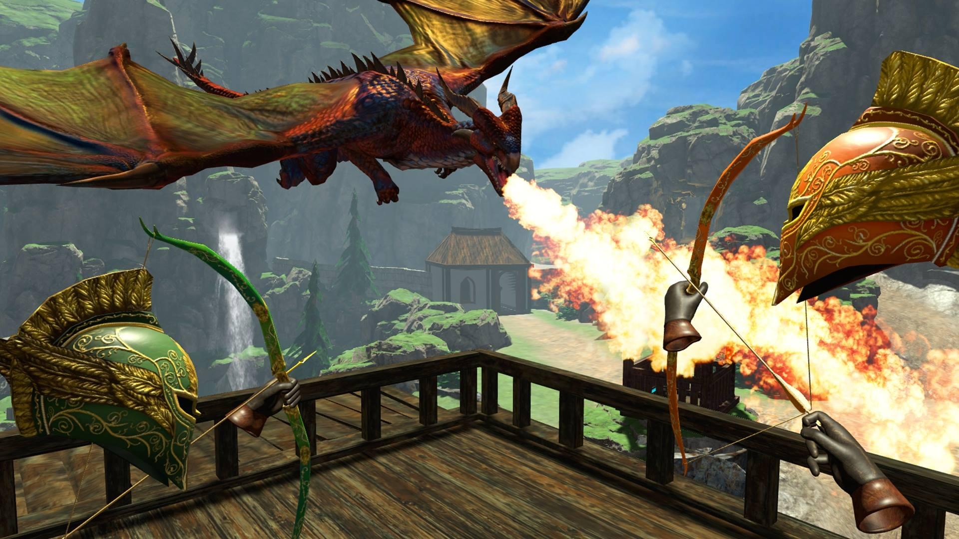 Verteidgt Eure Burg gegen Drachen und Orks