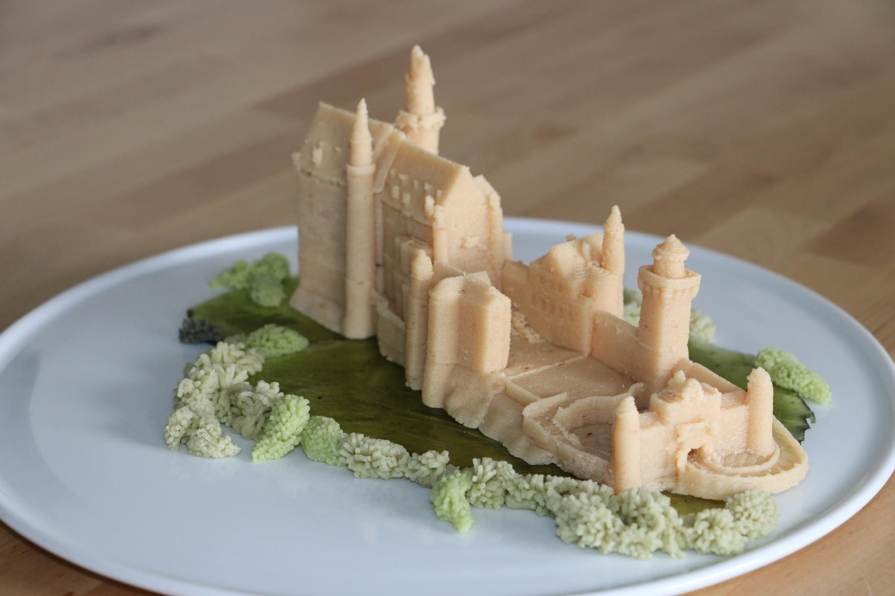3D marzipan castle Neuschwanstein