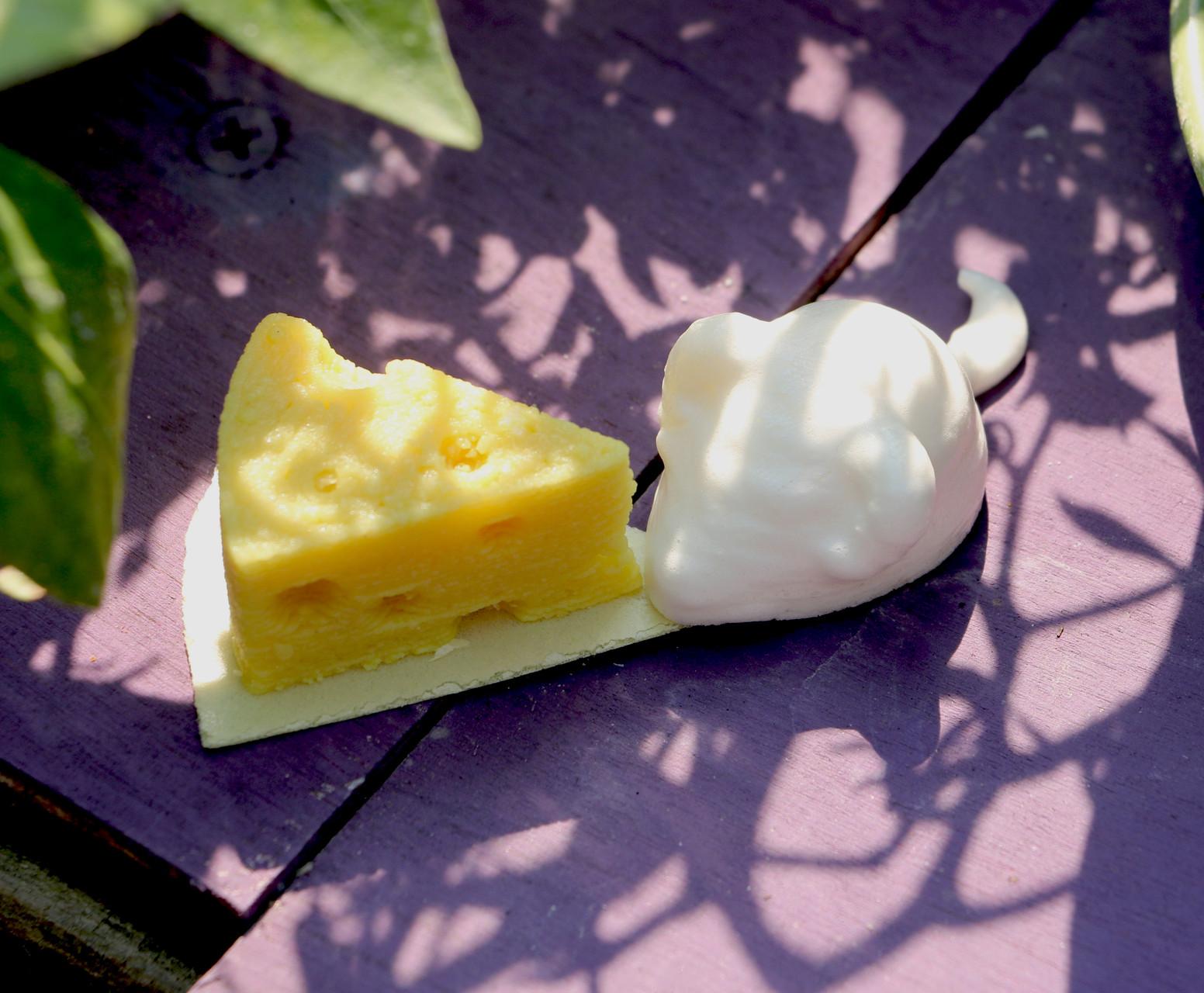 3D meringue mouse