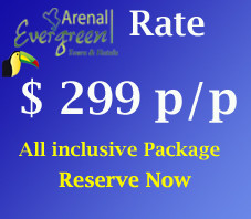 Arenal Vacation All inclusive 3D 2N