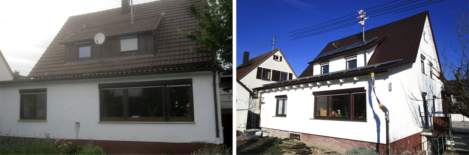 Dach- und Fassadensanierung nach individuellen Wünschen
