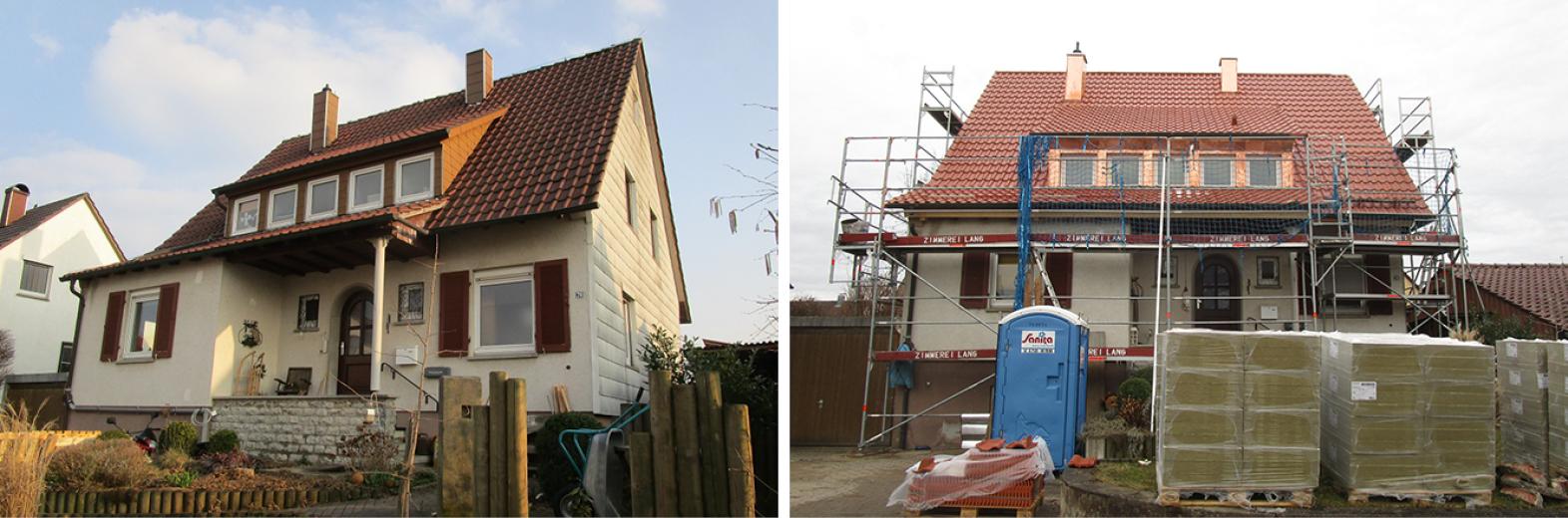 Komplette Dachsanierung mit neuem Raumkonzept