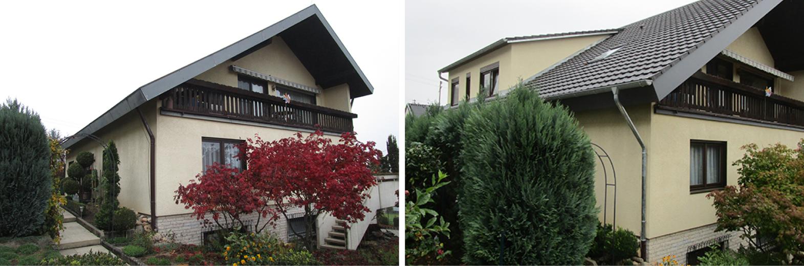 Dachgeschoss-Umbau mit neuer Gaube bei optimaler Dämmung