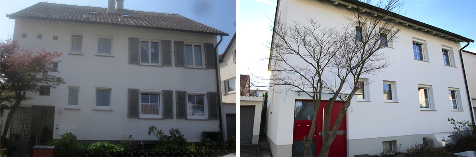 Dach- und Fassadensanierung mit neuem Heizungskonzept
