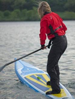 stand up paddeln im winter wenn es kalt ist kann gefährlich werden