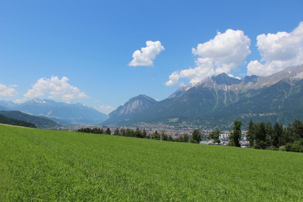 In der Ferne liegt Innsbruck