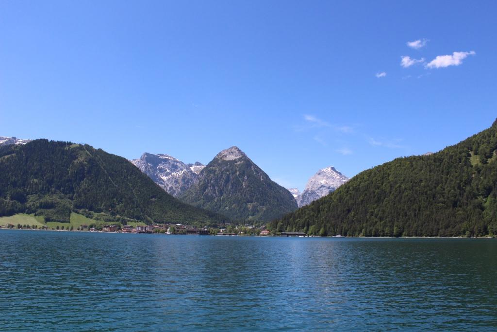 Blick nach Pertisau am Westufer