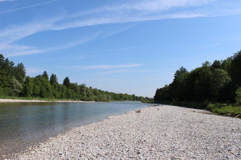 Einen schönen Strand haben die Münchener