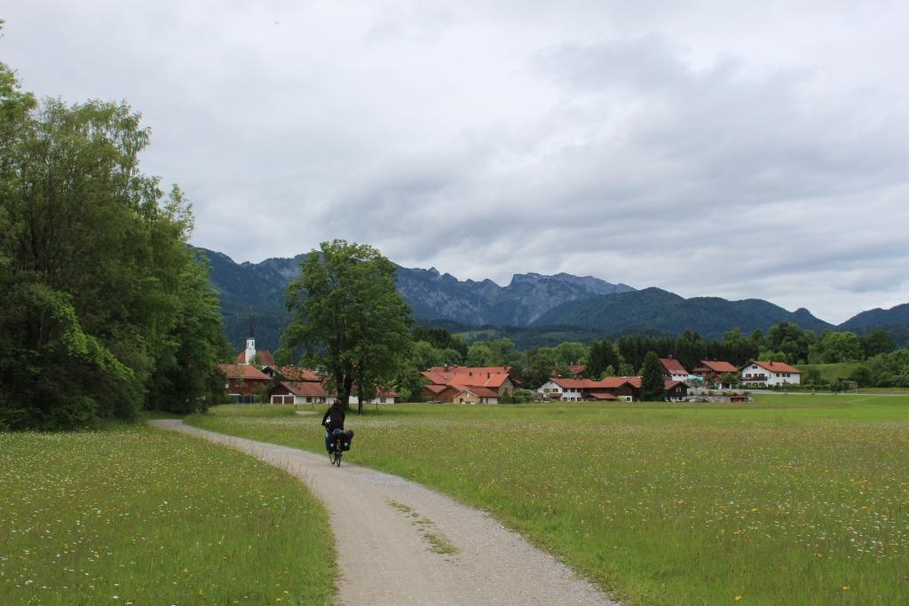 Dorf im Voralpenland
