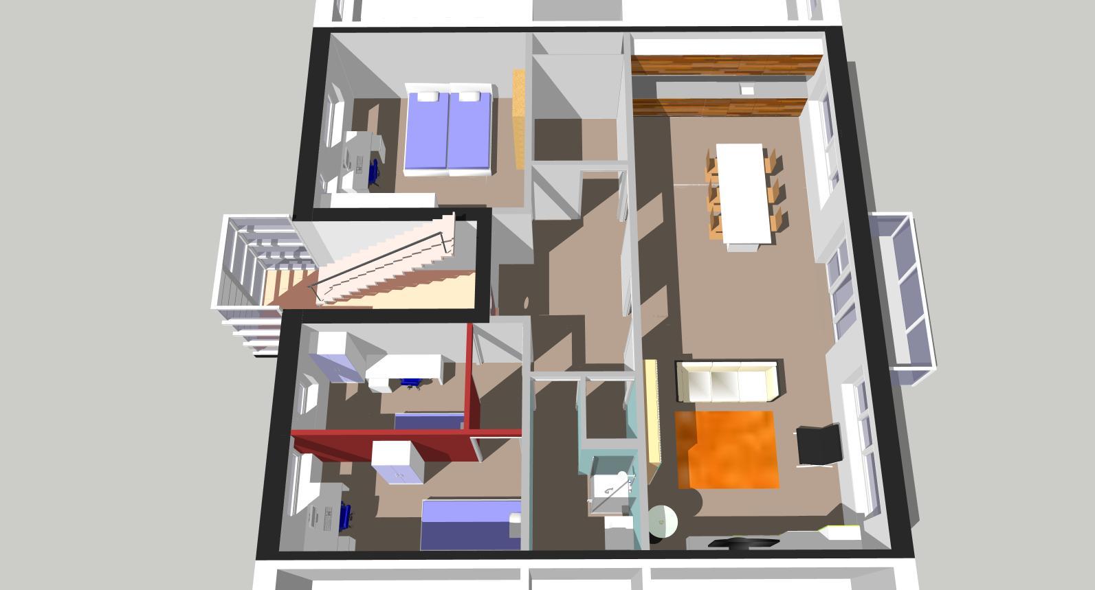 Indelingsvariant woonopp. 95 m2, eengezinswoning