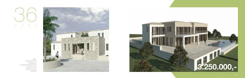 Finca auf Mallorca als Neubau Projekt