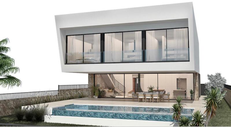 Musterhaus auf Bauland Mallorca: auf unserem voll erschlossenen Bauland können Sie Ihr Traumhaus bauen. Besuchen Sie jetzt unser Musterhaus in Cala Pi auf Mallorca.