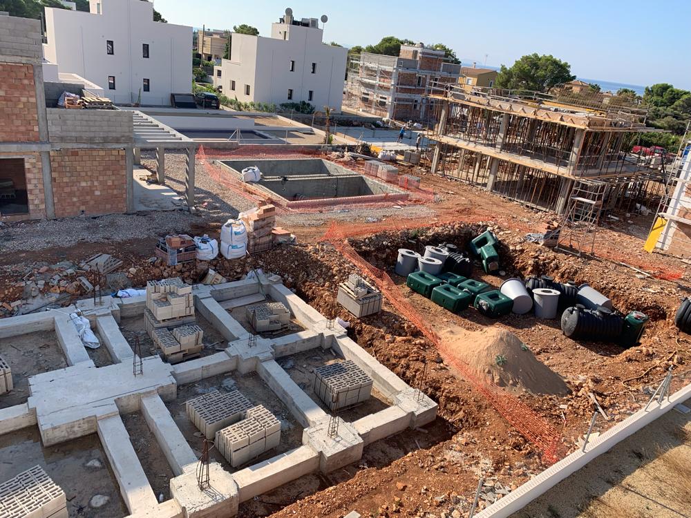 Top Qualität bei Mallorca Neubau Immobilien beginnt mit einem soliden Fundament.