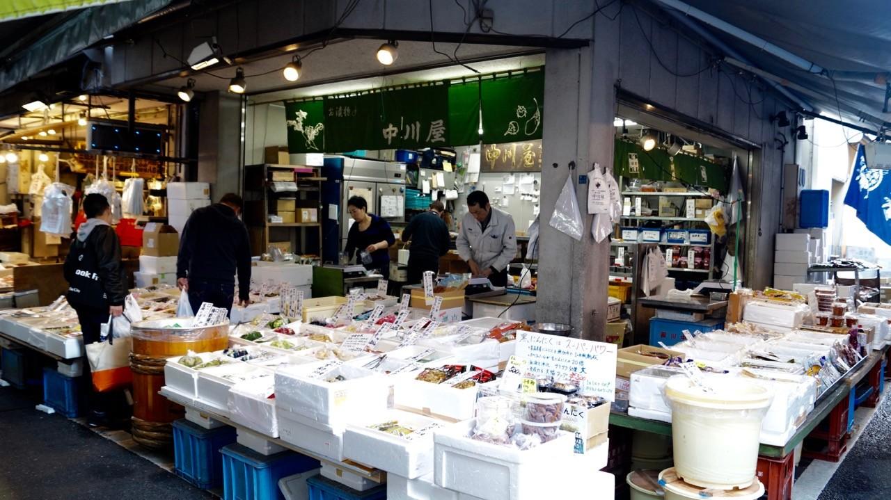 Der Tsukiji/Outer Market: Frischer Fisch!