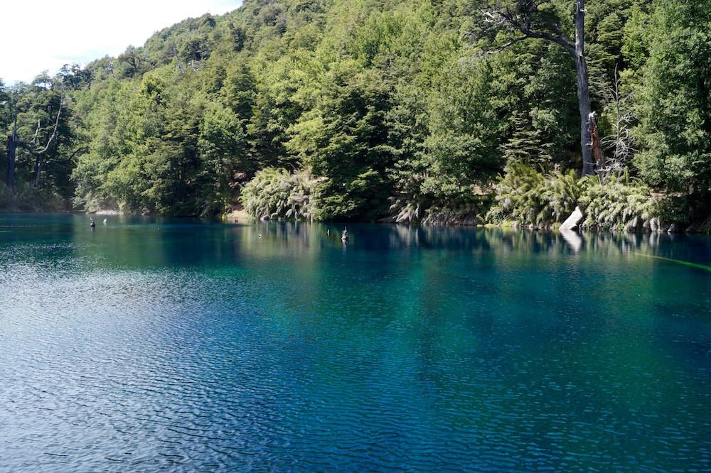 Parque Nacional Conguillió (Chile): Laguna Arcoíris