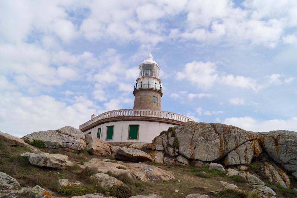 Der Faro de Corrubedo.