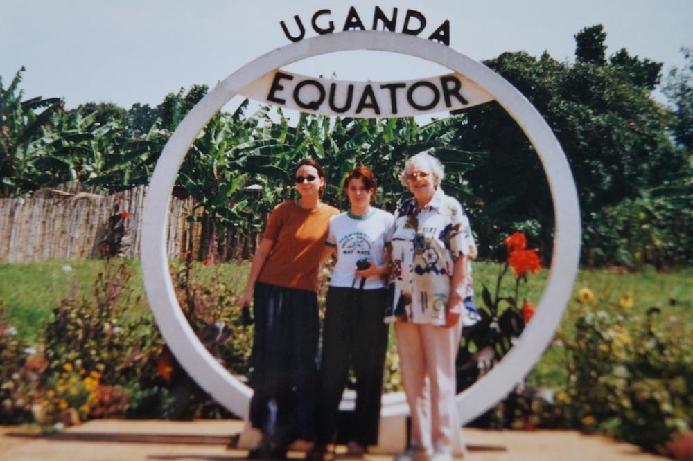 Die drei Grazien am Äquator.