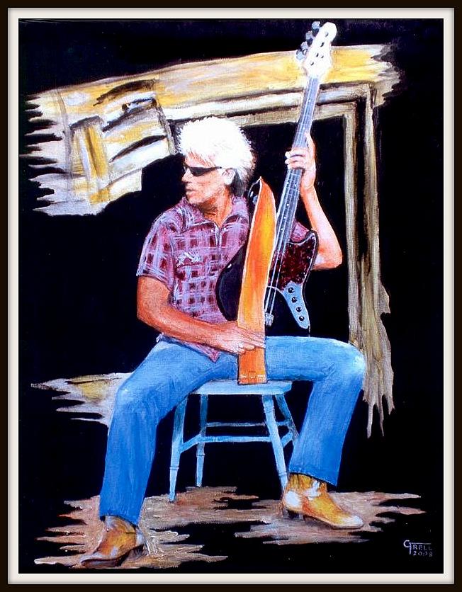 Chris Buck - Öl auf Malpappe - 32x25cm