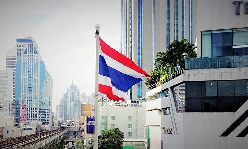 タイ王国バンコク国旗フラッグ01
