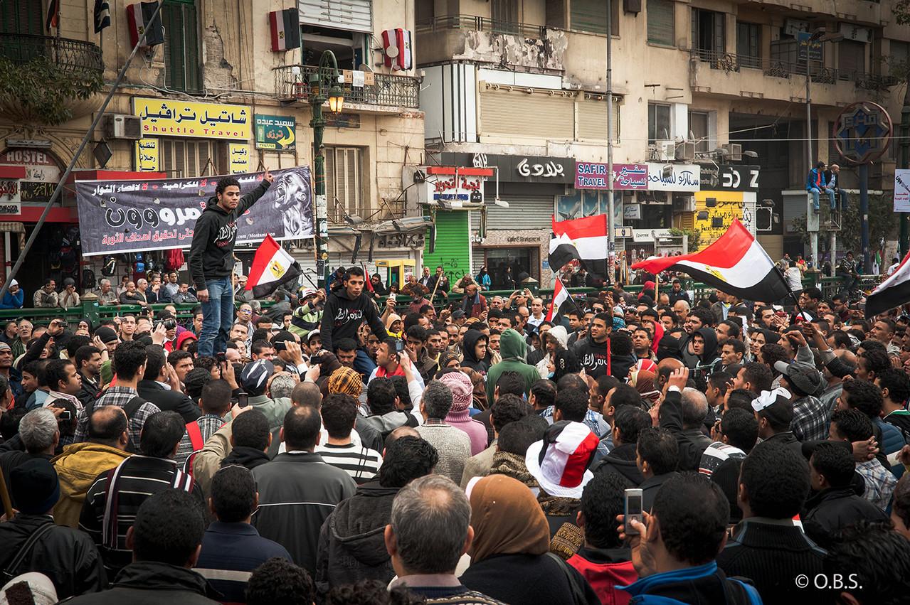Tahrir square, Cairo © O.B.S.