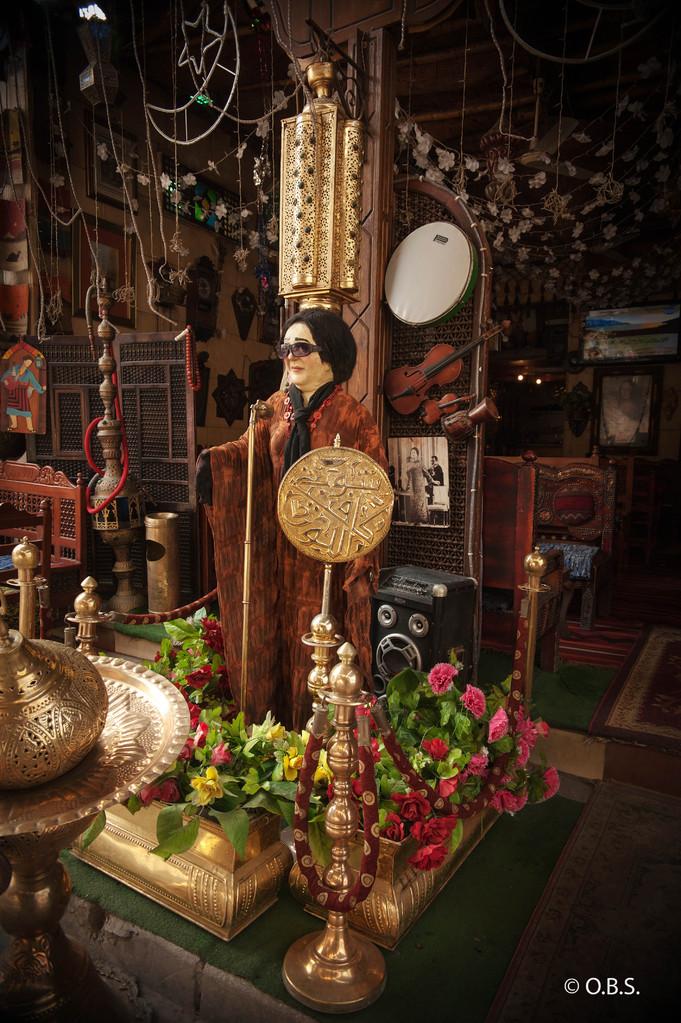 Oum Kalsoum, Cairo © O.B.S.