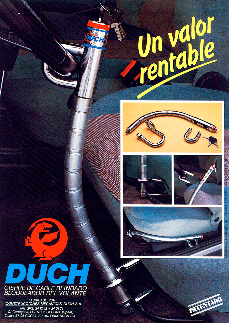 Publicidad Pitón Original Duch - Año 1992