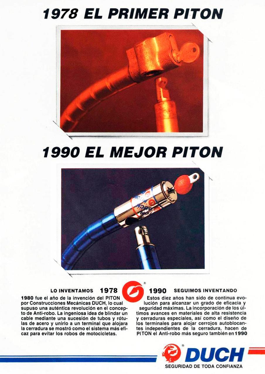 Publicidad Pitón Original Duch - Año 1990