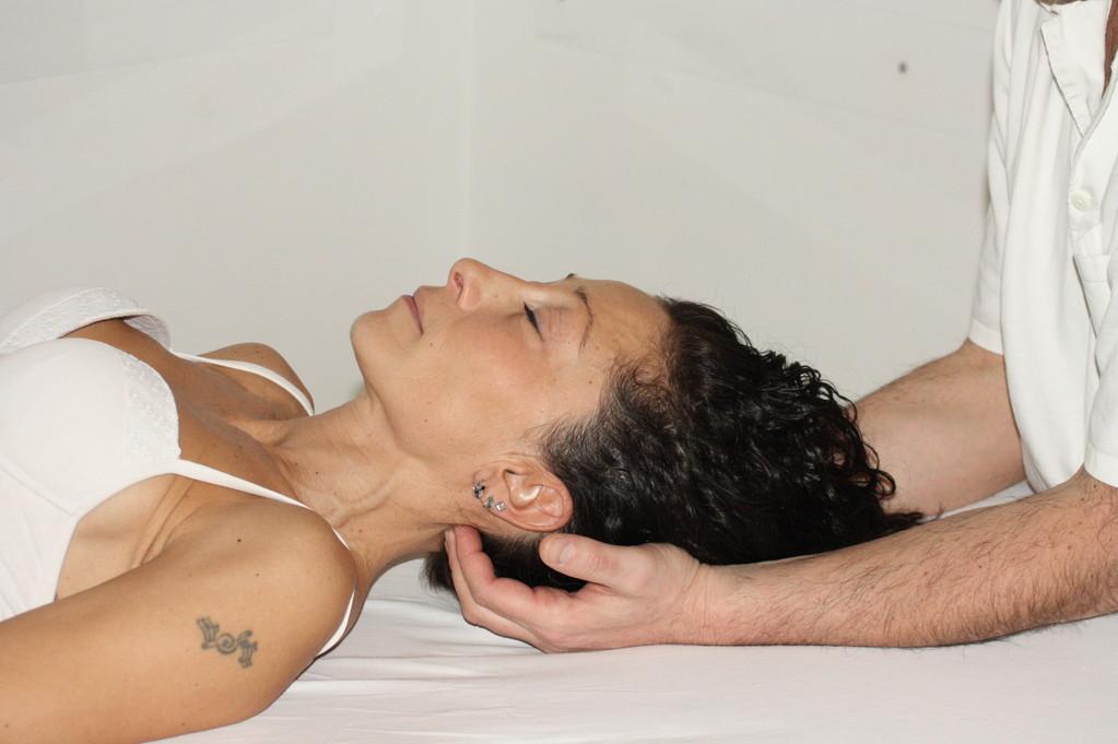Tec. trattamento fasciale dei mm. sub-occipitali