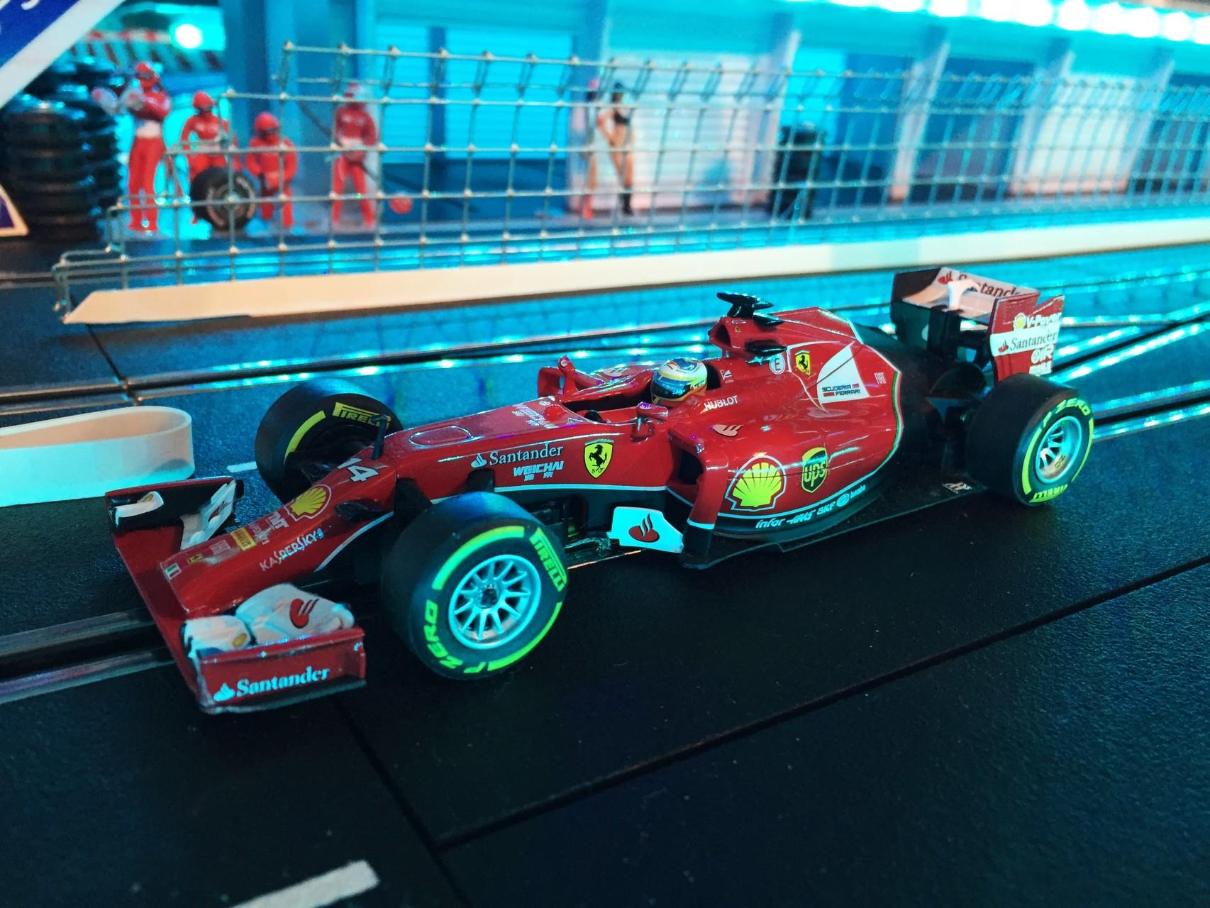 Ferrari F14 T  ( Alonso )