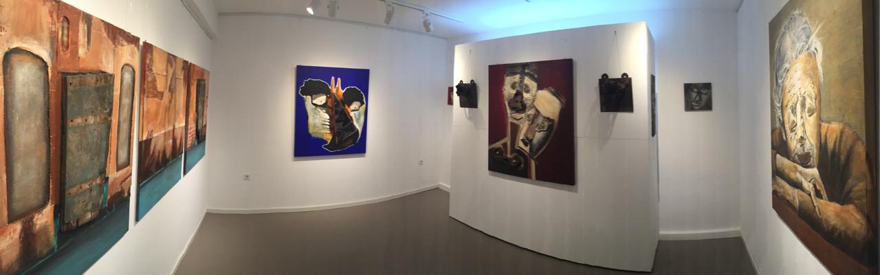 """Raum 2 Ausstellung """"Erdwächter"""" von J.H. BLOCK"""