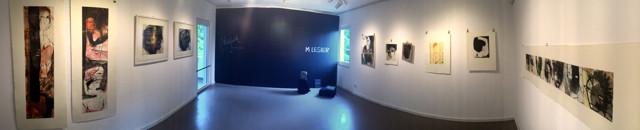 Raum 1: Tina Wohlfarth aus Dresden und M LESIER aus Düsseldorf