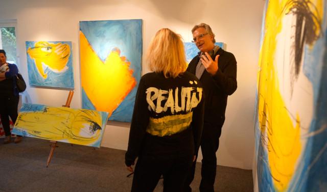 Alina Atlantis bei der Auktion der Werkes ...