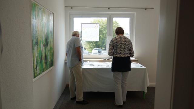 Raum 3 mit Werken der Künstler der tOG