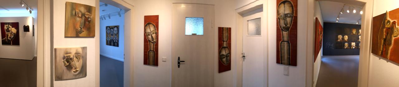 """Connector-Raum Ausstellung """"Erdwächter"""" von J.H. BLOCK"""