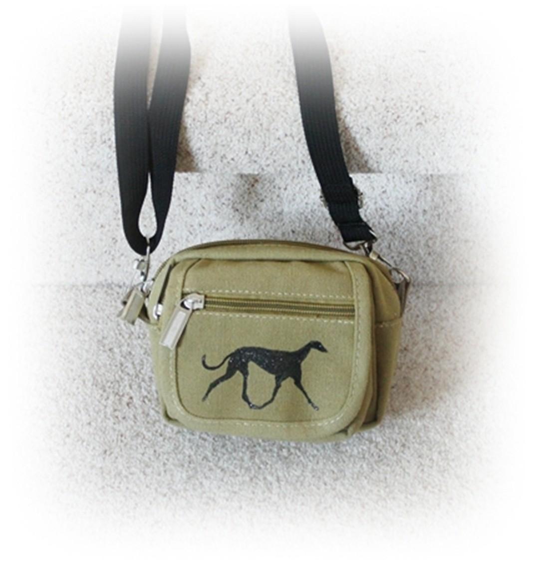 Schultertasche Gürteltasche Greyhound