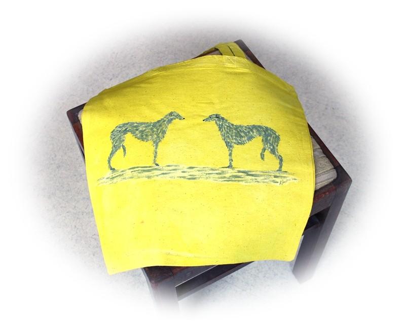Tragetasche Deerhound