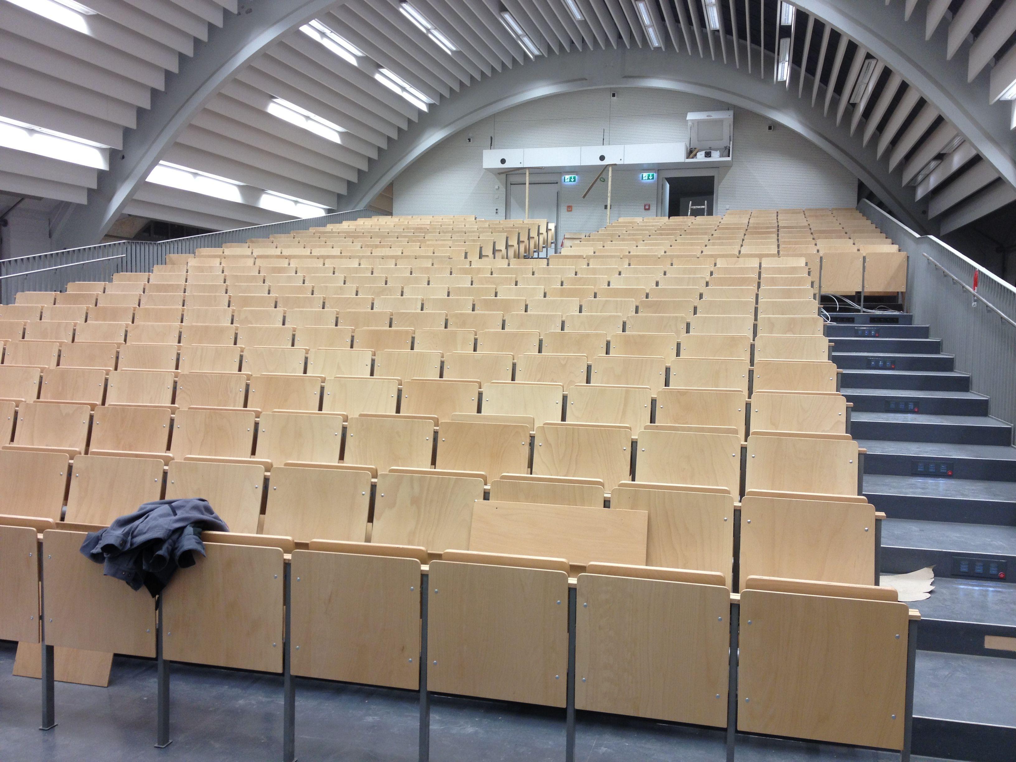 Lehrsaal an der TU Darmstadt