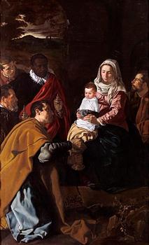 Diago Velázquez - óleo sobre lienzo