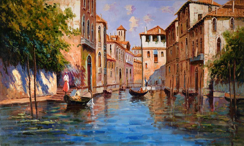 Cuadro al óleo, Veneciano - Cuadros al óleo artecuberos