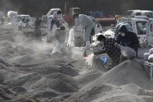 黄砂公害高齢者PM2.5室内物干しベランダが狭い