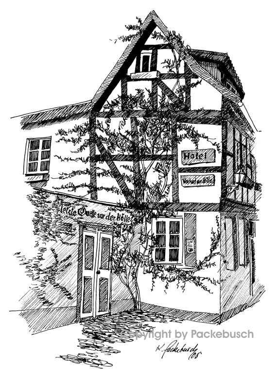 letzte Quelle vor der Hölle in Quedlinburg