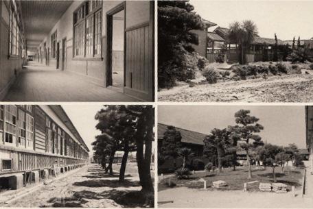 宗像高校 旧木造校舎 室内・外観・庭