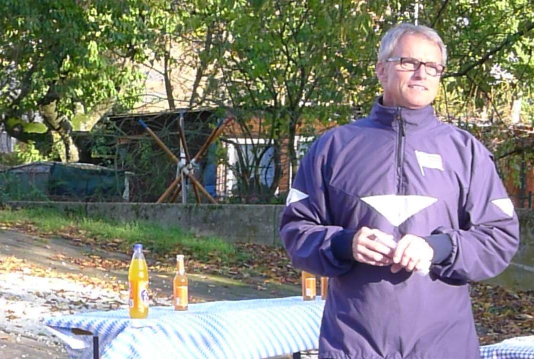 Ansprache des Vorsitzenden Rüdiger Dingeldey.